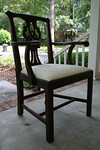 Two identical chairs sold for $1200 on eBay.  This will be a fantastic value for the new buyer!