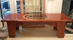 Rare Crowfield Plantation table presented to our homeowner by Westvaco Development in appreciation for his work.  There are four other found at Crowfield Plantation.