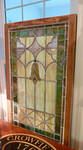 Large leaded glass window.  No damage that we have noticed.
