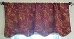 One of a pair of valences for sale.  We have other curtains for sale.