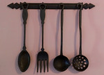 Cast iron kitchen tools