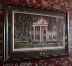 "Jim Booth ""Southern Plantation,"" signed and numbered."