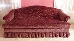 Super clean velvet sofa