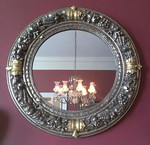 Decorator mirror, dining room