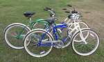 Lightly used Huffy Bikes, excellent condition.