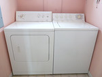 Main house washer and dryer