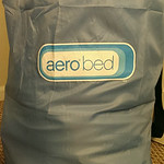 Aero inflatable bed, size unknown