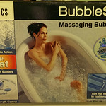 Bubble spa in the box.  You deserve this!