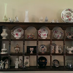 Nice curio shelf with curiosities
