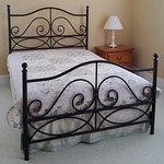 Full iron bed