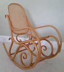 Super clean Thonet style bentwood rocker
