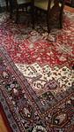 Large dining rug
