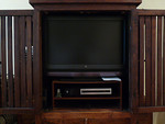 Flat panel television for sale.