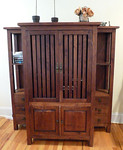 Celedon/Pottery Barn style armoire.  This is the first of this style we've offered.