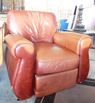 Leather chair, good condition.