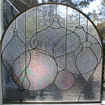 Stained glass made by our homeowner