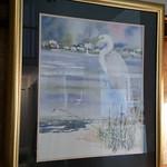 Professionally framed Victoria Platt Ellis print