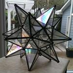 Large glass star