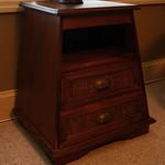Trapezoidal cabinet