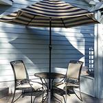 Clean umbrella table