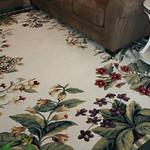 Super clean rug!