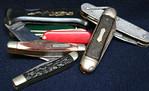 Vintage pocket knifes
