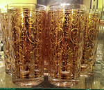 George Briard glasses in immaculate condition.