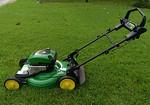 Barely used John Deere self propelled lawn mower with original paperwork