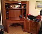 Very clean Sauder desk