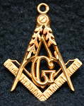 Charm belonging to the honorable Masons