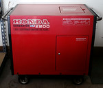 Super clean Honda generator that was stored with no gas inside.  This is a sweet piece!