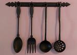 Cast iron kitchen tools