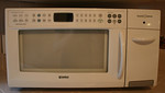 Barely used Kenmore microwave and toaster, guest house