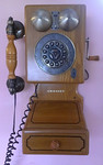 Repro Crosley telephone