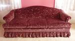 Super clean velvet sofa
