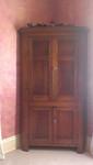 Late 1700's Corner Cabinet