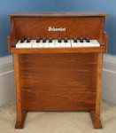 Child's upright toy piano