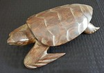 Large, carved turtle