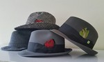 Stetson and Dodd brand hats