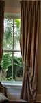 """Living room/dining room drapery panels (7) pairs available 104"""" lenght"""