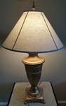Heavy decorator lamp