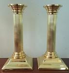 Baldwin brass candlesticks