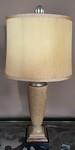 Pair of decorator lamps