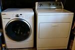 Front loader washer and standard dryer