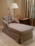 Clean, affordable chaise lounge.