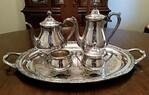 SIlverplated tea service
