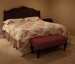 King Broyhill headboard and king mattress