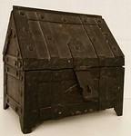 Very heavy iron box
