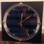 Modern Bulova clock