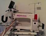 HQ Sixteen long arm quilting machine.  $3995
